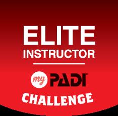 myPADI Elite Instructor Challenge